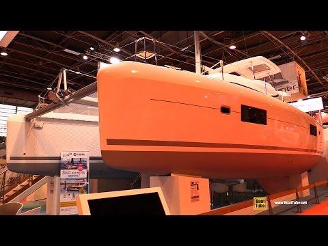 2017 Lagoon 42 Catamaran - Deck and Interior Walkaround - 2016 Salon Nautique Paris