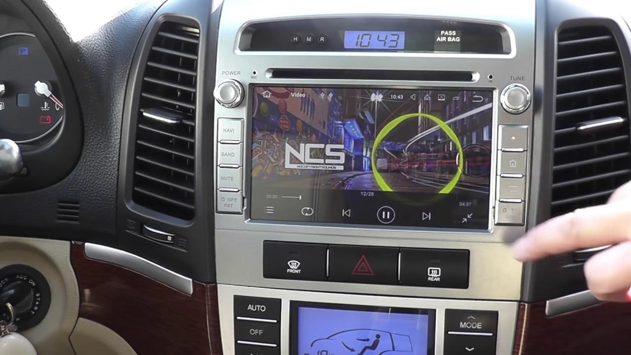 seicane 7 android radio hyundai santa fe radio install [ 1280 x 720 Pixel ]