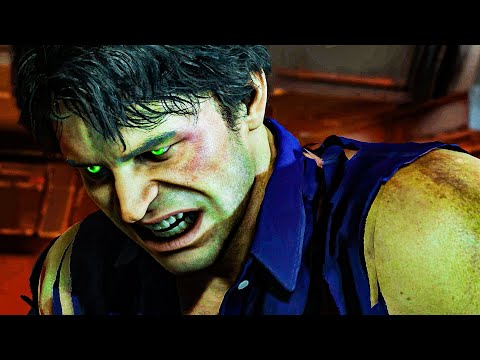 The Incredible Hulk All Cutscenes Full Game Movie