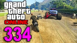 Grand Theft Auto 5 Multiplayer - Part 334 - Monster Truck Trolling (GTA Online Gameplay)