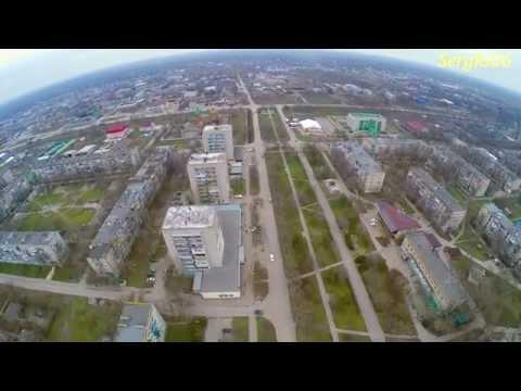 Город Нефтекумск Ролик ковёр вертолет