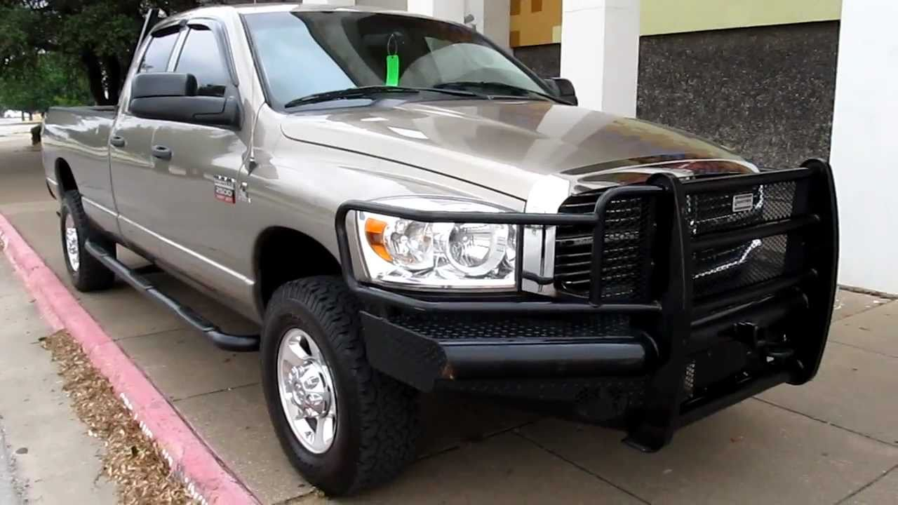 Texas Ranch Hand Bumpers : Dodge ram diesel six speed auto ranch
