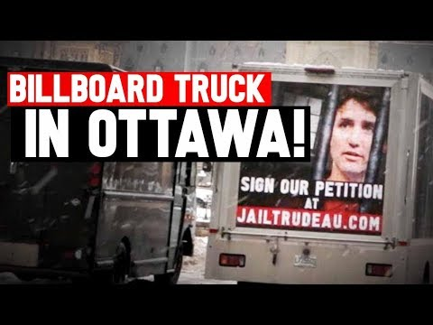 Taking JailTrudeau.com message to Ottawa streets!