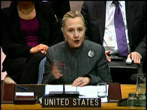 Secretary Clinton Delivers Remarks at UN Security Council Session on Syria