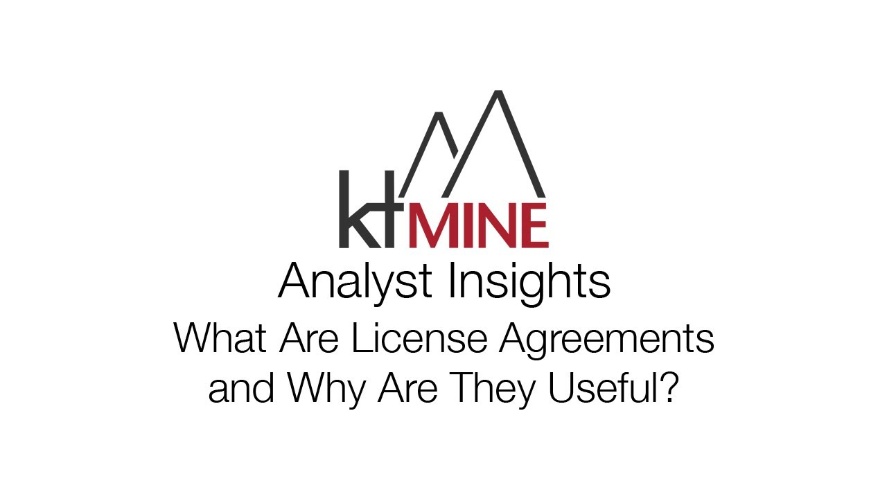 Analyst Insights What Are License Agreements And Why Are They