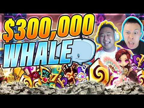 He Whaled $300,000+ In Summoners War! Most UNLUCKY Player In The World?!