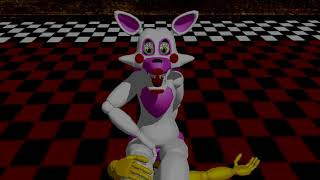 MMD Mangle Farts on Toy Chicas Face (Stinky Charizard)