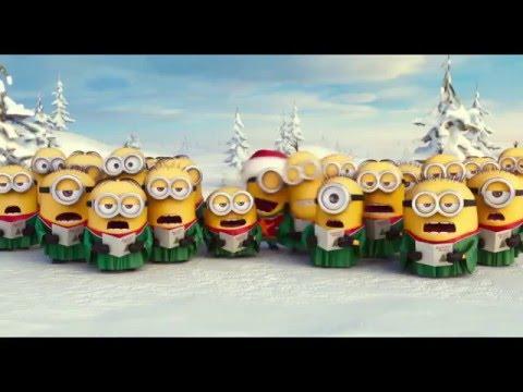 Minions cantando Blanca Navidad [Villancicos][HD]
