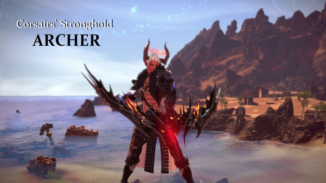 TERA Corsairs' Stronghold - ARCHER PvP