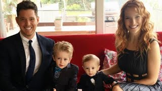 michael bubles wife luisana shares touching new photo of son noah following cancer scare