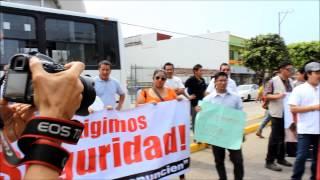 Quinta marcha para exigir con vida a Gregorio Jiménez de la Cruz