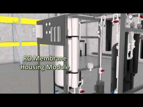 What is Reverse Osmosis and DI Water Distribution
