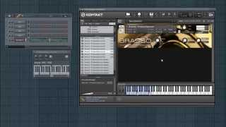 Brasso - Free NI Kontakt Brass Instruments Sample Library