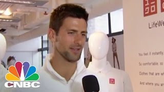 Tennis Star Novak Djokovic On Equal Pay | CNBC