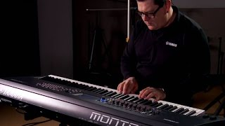 Yamaha Montage Synthesizer Performance with Blake Angelos