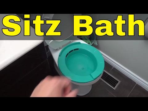 How To Take A Sitz Bath-FULL Tutorial