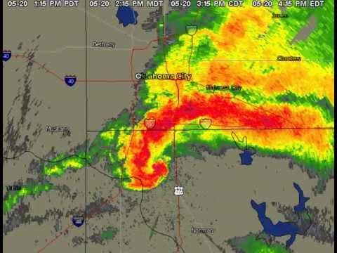 Incredible Radar Loop Moore, OK Tornado 5/20/2013