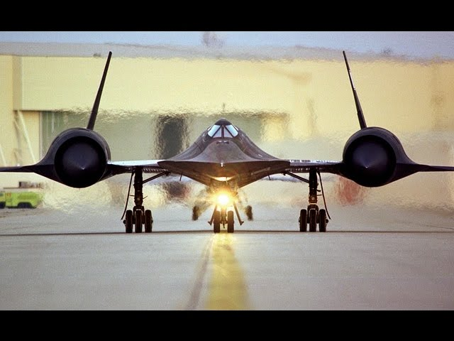 BLACKBIRD SR-71, l'AVION ESPION (Documentaire)