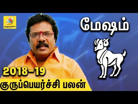 Mesha Rasi Guru Peyarchi Palangal 2018 to 2019 | Tamil Astrology Predictions | Abirami Sekar