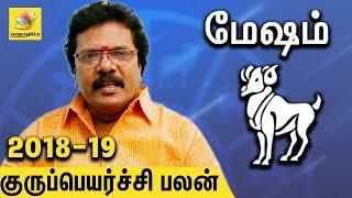 Mesha Rasi Guru Peyarchi Palangal 2018 to 2019   Tamil Astrology Predictions   Abirami Sekar