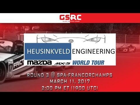 Heusinkveld Engineering MX-5 World Tour - Season 13 - Round 3 - Spa-Francorchamps