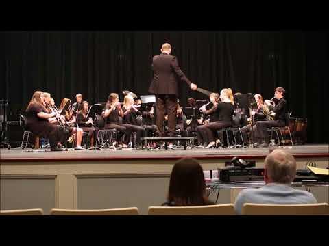 North Lincoln Middle School Symphonic Band MPAs Wingate University 03092018