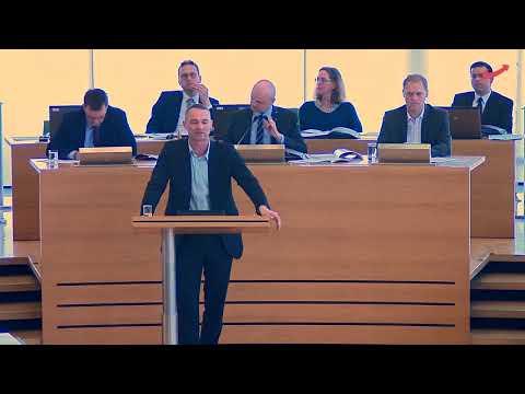 Sebastian Wippel AfD : Grenzen schließen - Gefahren abwehren! Antrag im Plenum 18.März.2020