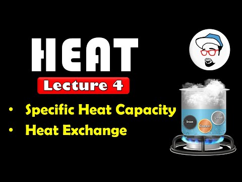 HEAT, Class 10 SSC || Lecture 4, Specific Heat Capacity, Heat exchange || Maharashtra state board
