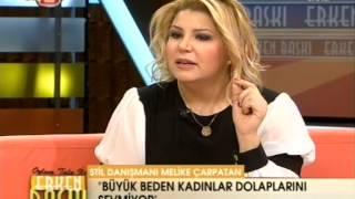 Büyük beden stil danışmanı Melike Çarpatan Seda Sultan'a konuk oldu.