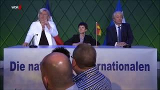 Comedy: Das rassistische Europa-Dreigestirn in Koblenz: Le Pen, Petry und Wilders