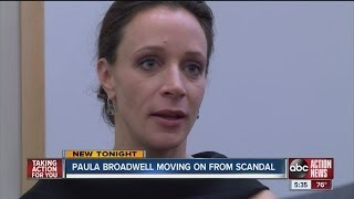 Paula Broadwell deflects questions at USF event