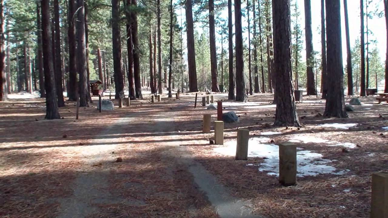 Nevada Beach Campground Lake Tahoe Nevada All 54 Campsites Tahoephotography Channel Youtube