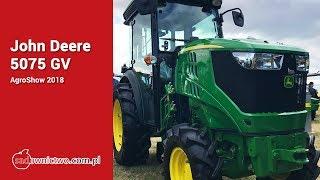John Deere 5075 GV [AgroShow 2018] - Specialty Tractors John Deere