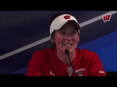 Wisconsin Softball beats Missouri 7 - 2 to start the NCAA Tournament