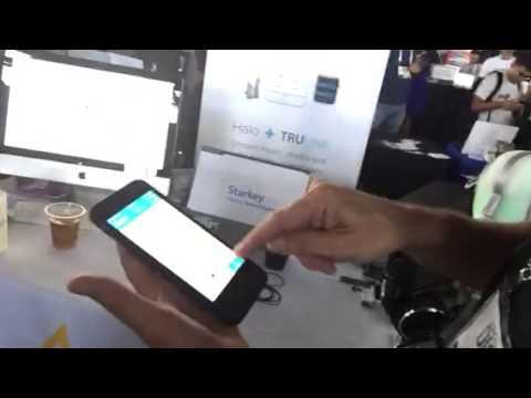 Starkey Hearing App Wearable Tech At TechCrunch #TCDisrupt