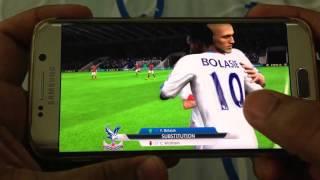 vuclip SAMSUNG GALAXY S6 EDGE FIFA 16 GAMEPLAY