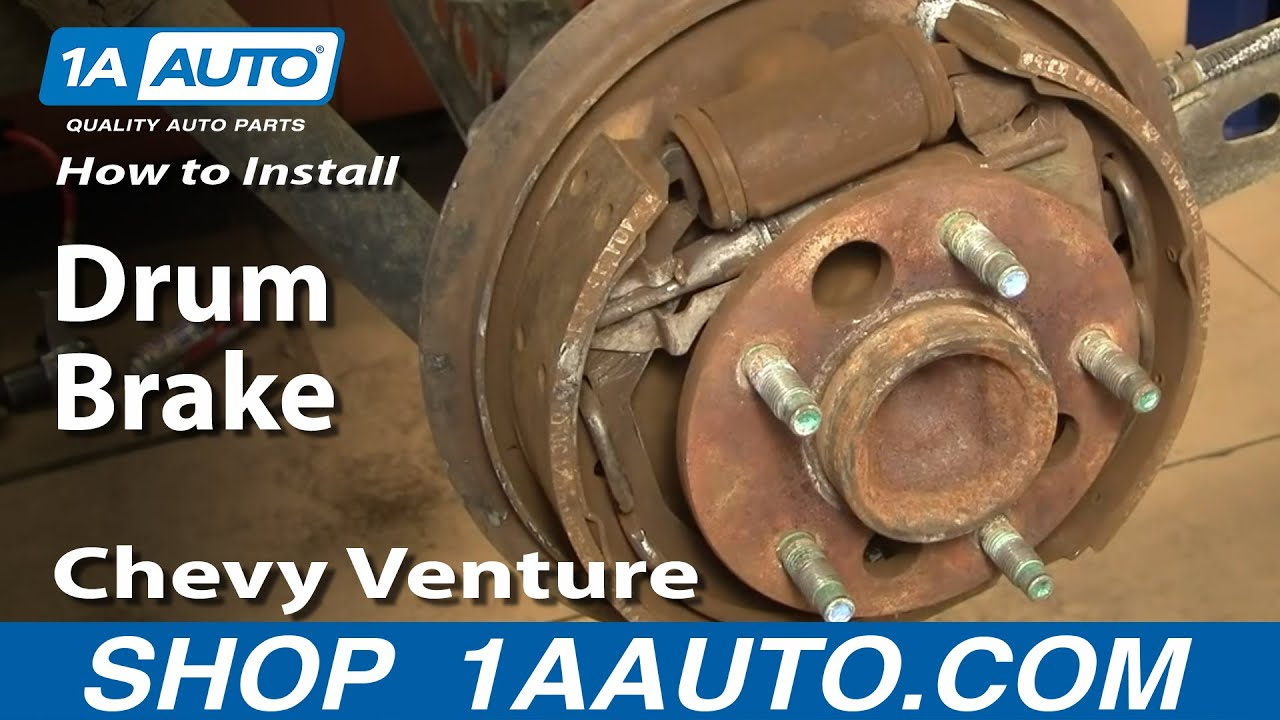 2004 2005 2006 2007 Chevrolet Aveo Brake Drum and Shoes
