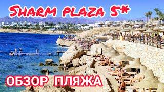 Египет 2020 Отель Шарм Плаза 5 ЖЕНСКИЙ ВЗГЛЯД Обзор пляжа Шарм эль Шейх