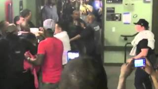 Ray J beats up Bad Azz - Full Fight At West Coast Fest