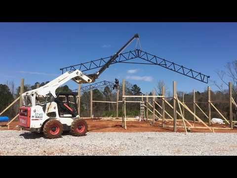 Pole Barn House Build || Building Our Pole Barn House