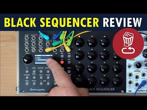 Erica BLACK SEQUENCER Review // Patch/track walkthrough tutorial