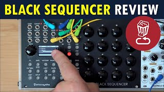 Erica BLACK SEQUENCER Review // Patch/track walkthrough tutorial