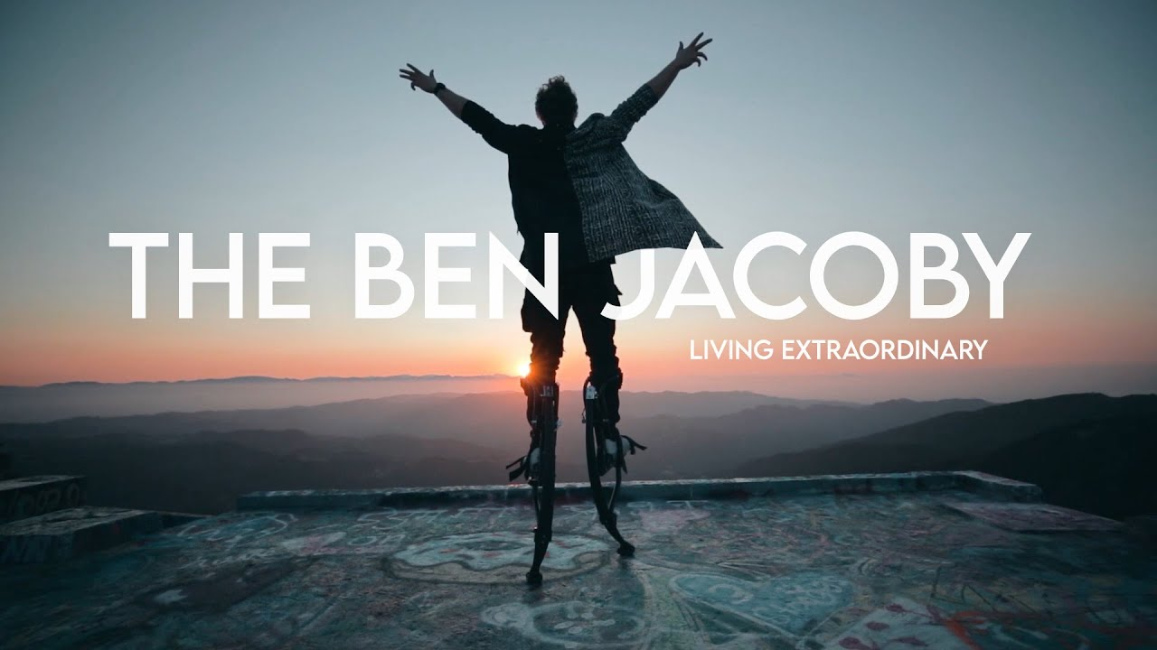 The Ben Jacoby YouTube channel is now live