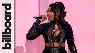 Megan Thee Stallion Performs 'Cash Shit' Live!   Women in Music
