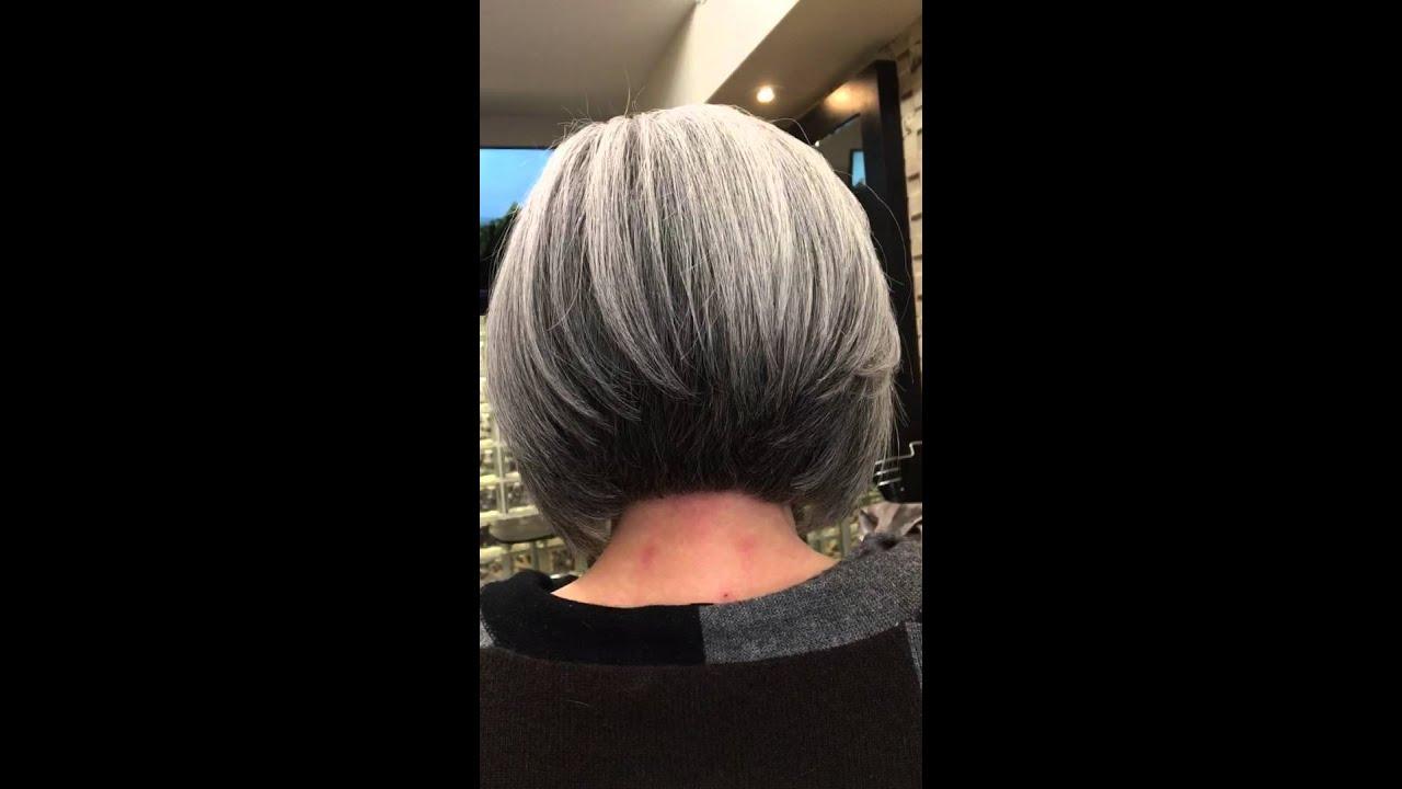 Best Bob Haircut Aria Hair Salon New York Youtube