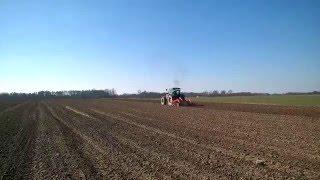 Wiosenne prace rolne Massey Ferguson 6170+Brona talerzowa Agro-Masz BT 3m