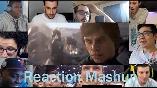 Star Wars Battlefront 2  Full Length Reveal Trailer REACTION MASHUP