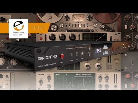Testing The New Antelope Orion 32HD Gen 3 In A Studio Recording Session