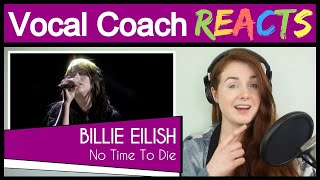 Baixar Vocal Coach Reacts to Billie Eilish - No Time To Die (Live From The BRIT Awards, London)