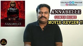 Annabelle Comes Home Review | Annabelle 3 Review by Filmi craft | Gary Dauberman